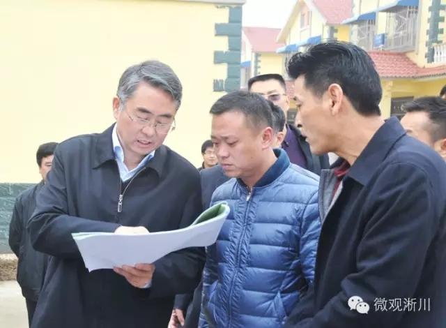 市委书记穆为民深入淅川县厚坡镇调研